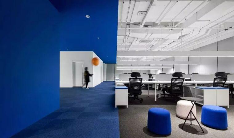 一切新尝试的设计都是为人服务,任何的办公空间都将充满美感 !