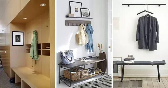 入户玄关区必选,长凳的三种形态