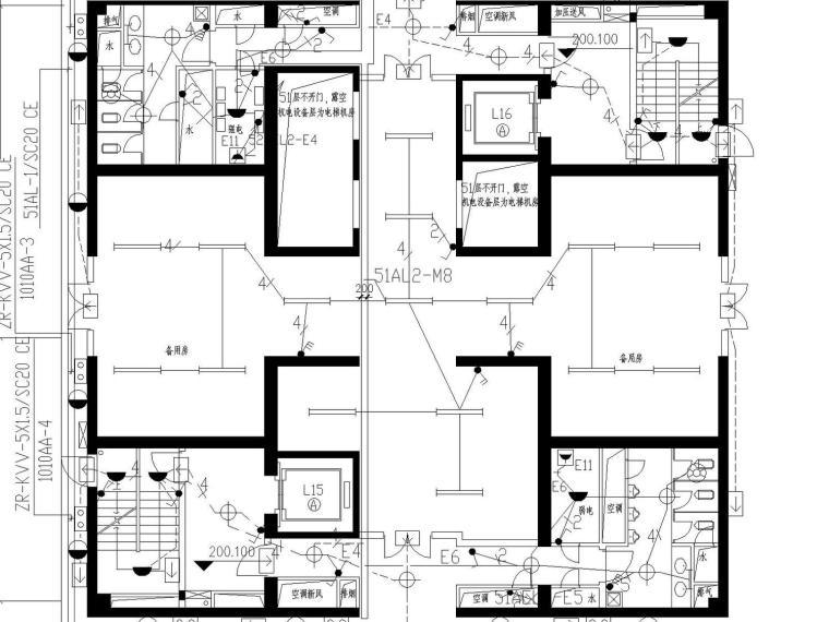 某五十二层超高商务中心(附电气、建筑、结构、空调、水多张图纸)_4