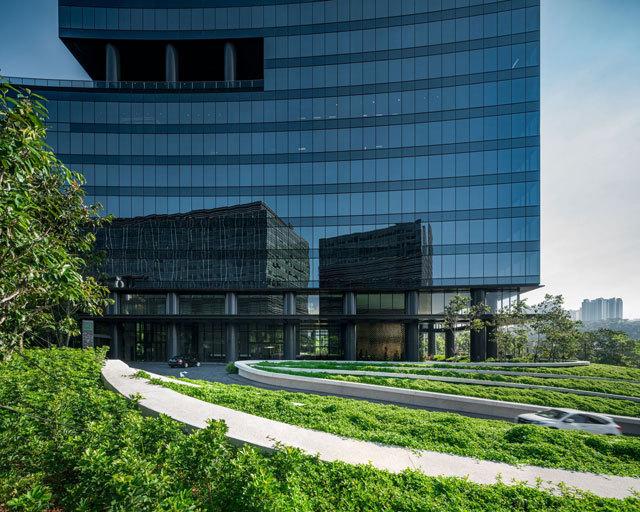 6-新加坡Comtech商业园区景观设计第6张图片
