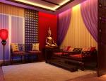 中式休息室3D模型下载