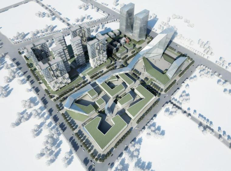 本月更新!120套筑龙会员专享资料|居住区+模型+办公+商业_3