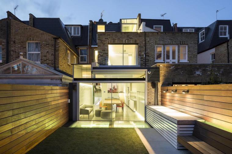 英国维多利亚式的住宅