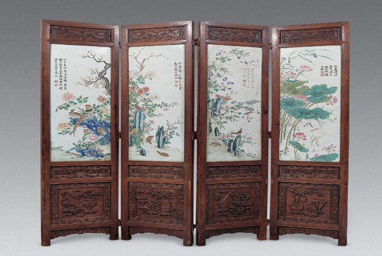 那些令人惊艳的中式屏风软装设计