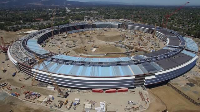 2017年最值得期待的10个建筑(六)——苹果公司2号总部园区_2