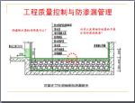 房地产企业工程质量控制与防渗漏施工管理(260页,含案例)