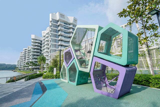 新加坡吉宝湾丽珊景住宅景观设计_10