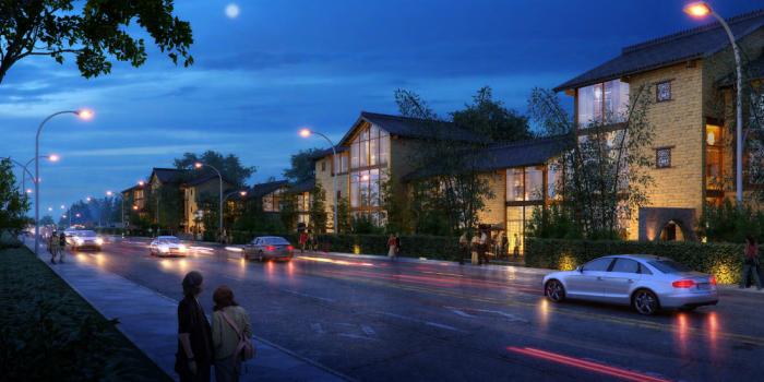 [广西]桂林风情古镇老街乡村景观设计方案(赠项目lumion动画)-效果图21