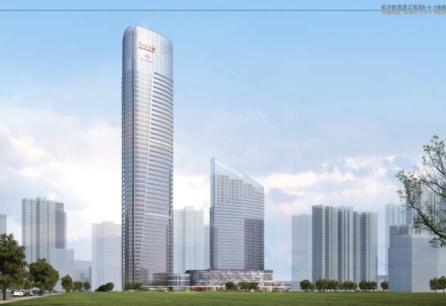 长沙世茂塔楼结构设计