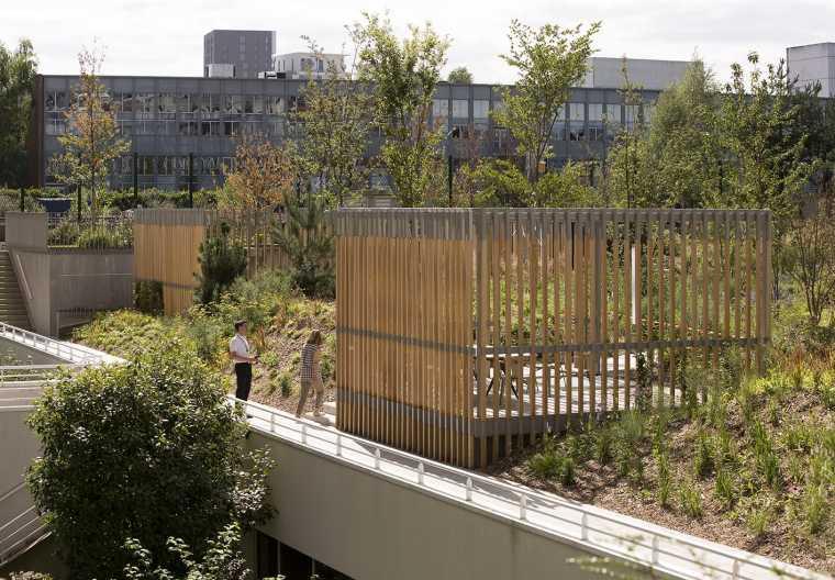 Massy-Palaiseau办公楼周围景观-17