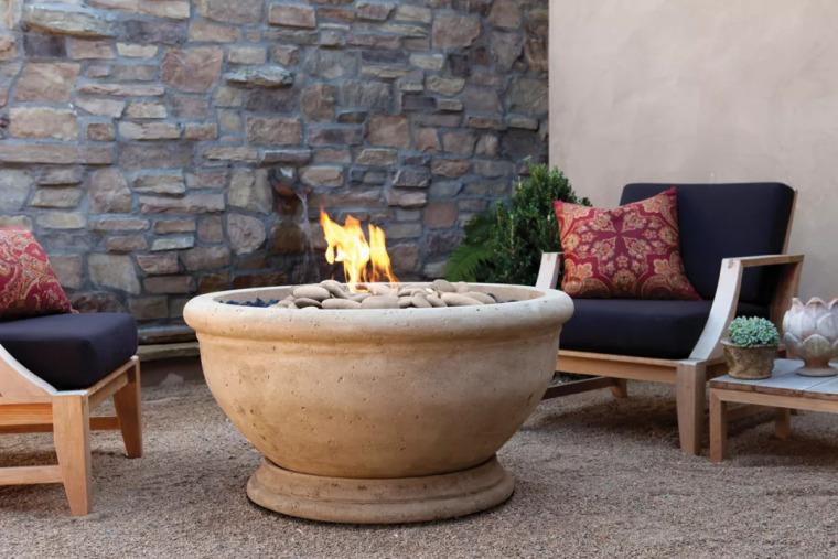 庭院里那一抹温暖·火炉_3