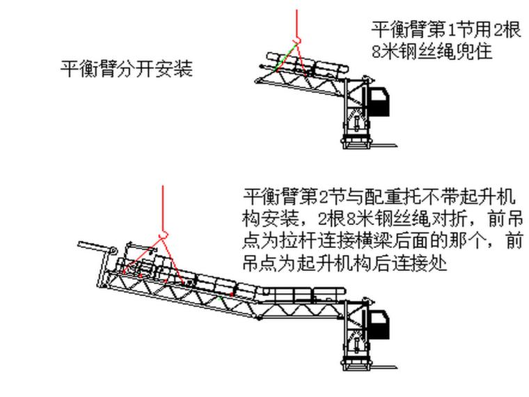 甘肃知名酒店K4026塔吊安装施工方案