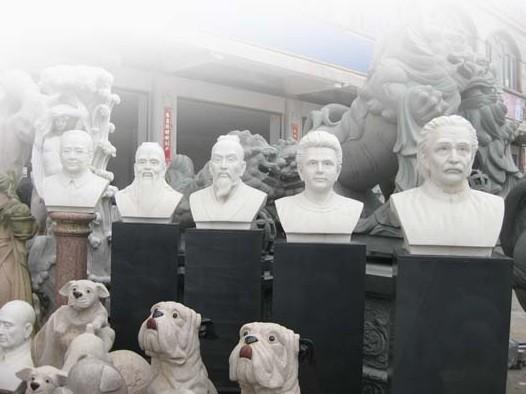 古代人物雕塑-孔子:儒家文化思想的传承