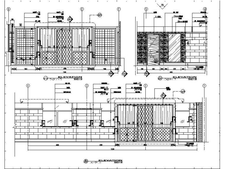 [苏州]某知名集团旗下时尚休闲会所室内设计施工图_3