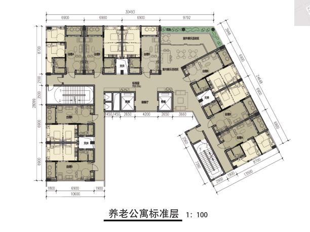 [广州]别致立面一梯一户高层住宅建筑设计方案文本(含SU、CAD)_12
