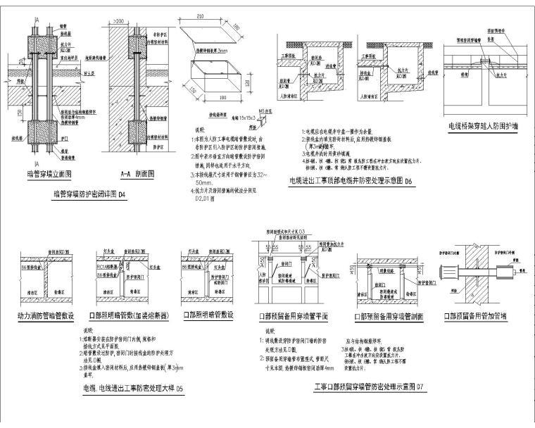 [浙江]14万平三级甲等综合医院电气施工图270张_7