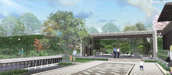 [广东]美式风格高端住宅社区景观设计方案(2017最新)