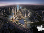 [郑州]现代风格商业中心广场建筑设计方案文本