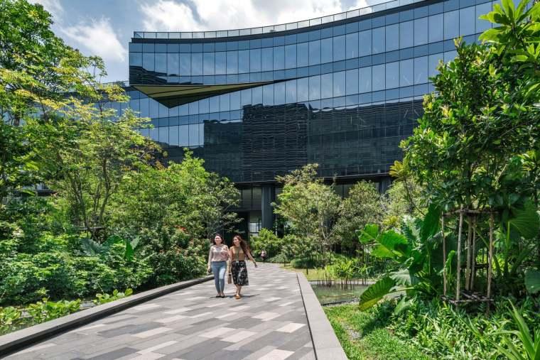 新加坡Comtech商业园区景观-1