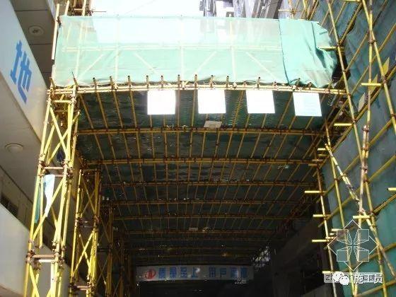施工外脚手架及安全防护棚专项施工展示!_16