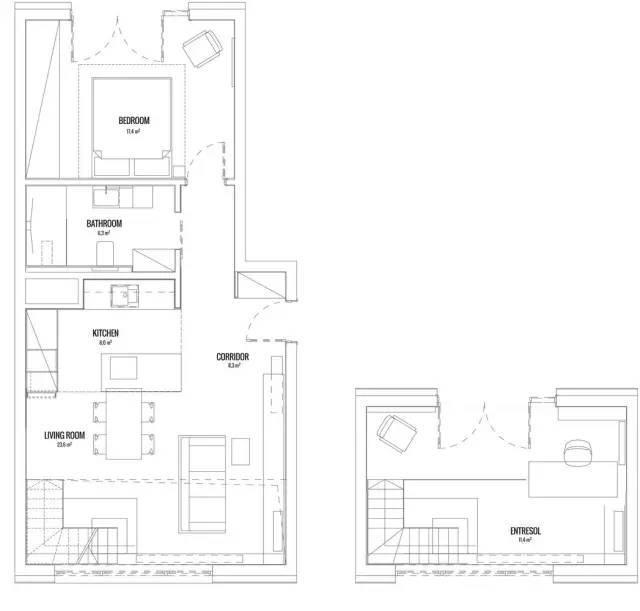 三款小夫妻一百分满意的loft工业风新房