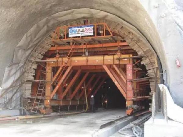隧道支护施工操作,了解一下!