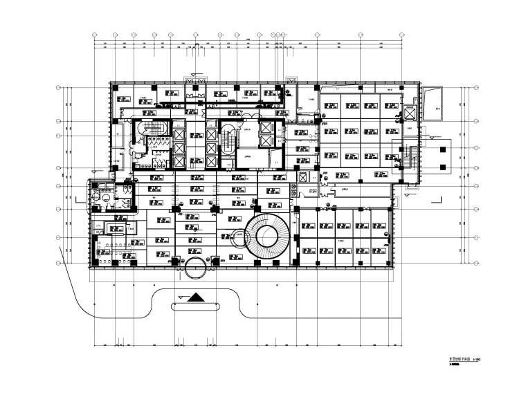 奇虎360研发楼暖通图纸(含平面图、大样图等)