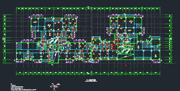地上22层地下4层桩基础框架剪力墙住宅楼结构施工图_3