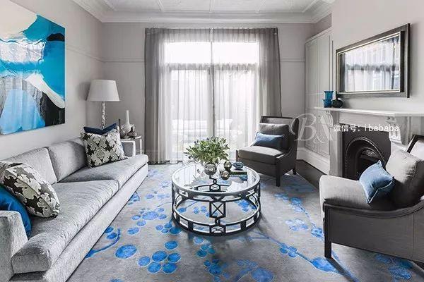 高级灰+蓝色,天生骄傲,打造优雅的高贵感_10
