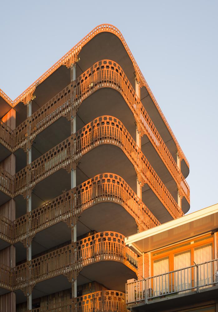 荷兰预制混凝土模块式的住宅-荷兰预制混凝土模块的住宅外部实景图 (4)