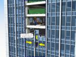 超高层单元式幕墙施工组织设计