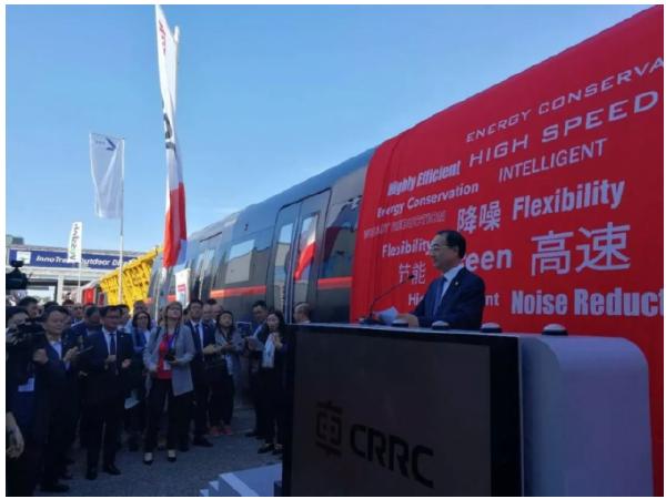 中国中车:新一代碳纤维地铁车辆全球发布!_1