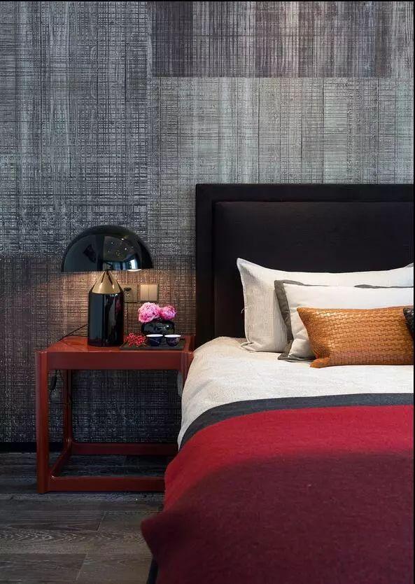 卧室背景墙别放空,这样设计美极了!_5