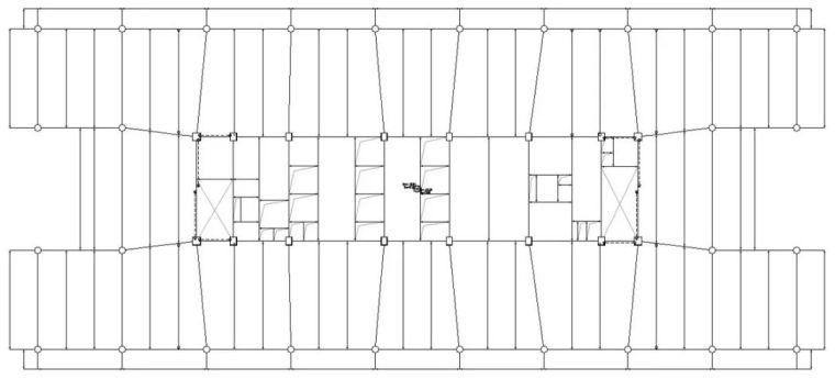装配式要求下的百米办公楼结构体系_6