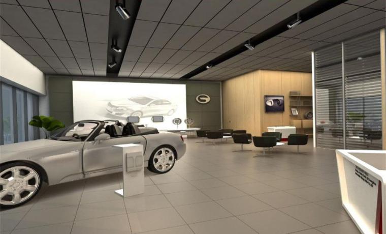 (原创)汽车4S店室内设计案例效果图-汽车4S店 (11)