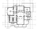 [上海]某欧式三层庄园别墅室内设计施工图