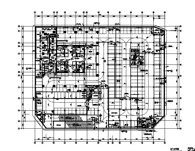 高层框剪结构捷美商务中心建筑全套施工图