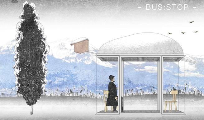 国际建筑师们屁颠儿跑去设计公交车站,关键还免费?!