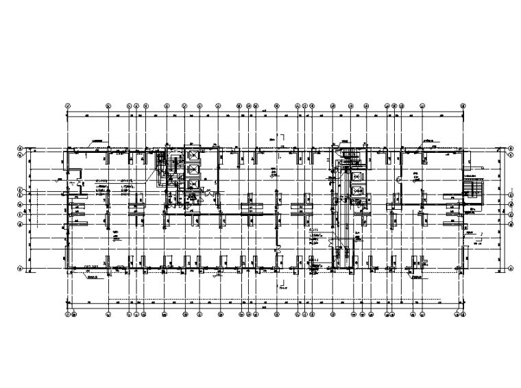 深圳產業研發區全套暖通施工圖