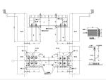 钢结构连廊结构施工图(CAD、5张)