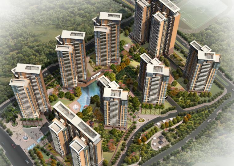[广东]大冲还迁住宅建筑概念设计方案文本