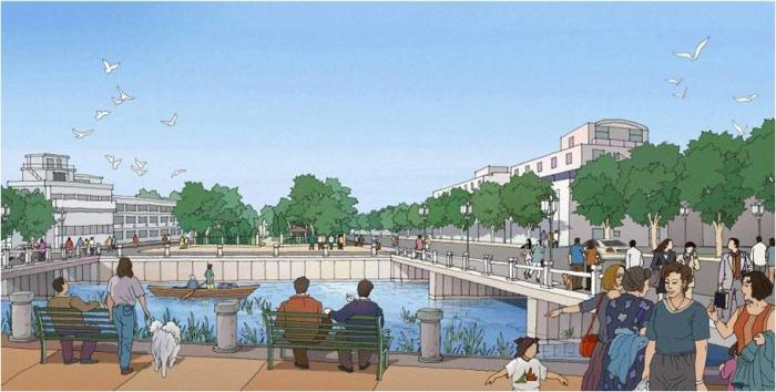 [广东]生态水岸河道景观规划设计方案_2