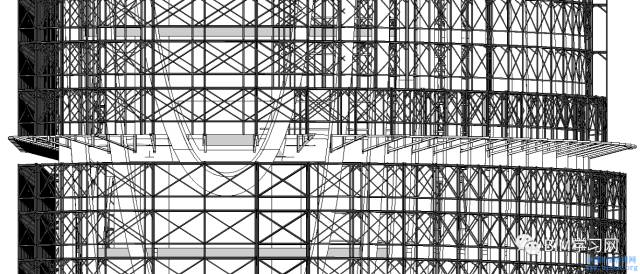 BIM应用于南港办公大楼案曲面帷幕建筑施工整合探讨_2
