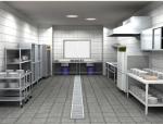 员工厨房设备电系统图