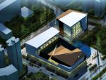 高层现代风格知名地标性布吉文体中心建筑设计方案文本