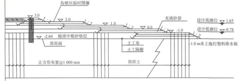 大面积围海造陆围堰工程关键技术研究及应用_2