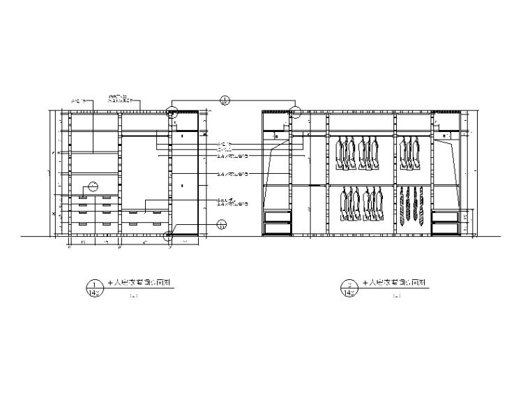 【北京】两套时尚经典别墅设计CAD施工图二_7