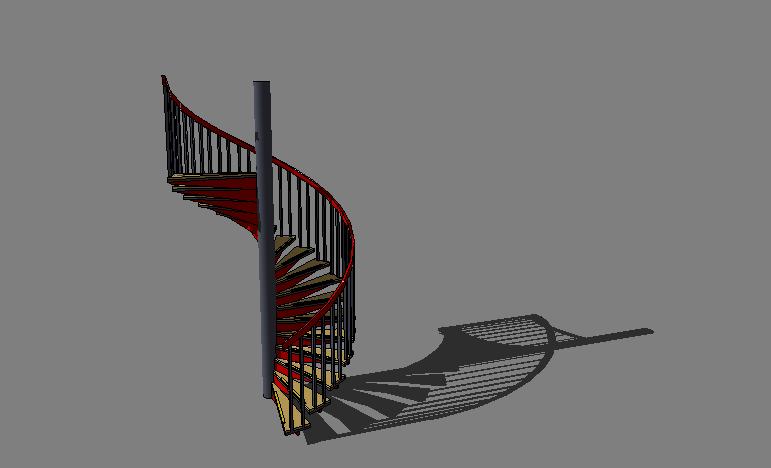 110个室内外旋转楼梯、扶梯SU模型合集