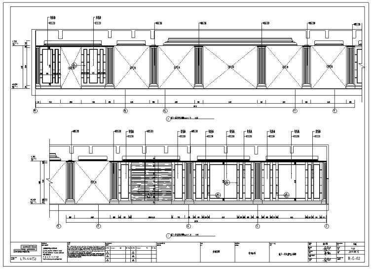 金地常州天际会所精装修施工图及效果图(54张)_1