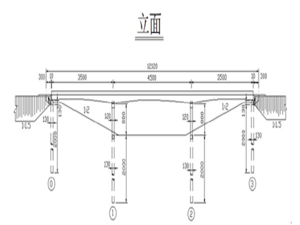 土木工程桥梁工程毕业设计计算书模板(完整版)